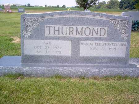 THURMOND, SAM - St. Francis County, Arkansas | SAM THURMOND - Arkansas Gravestone Photos
