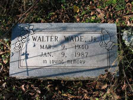 WADE, JR., WALTER - St. Francis County, Arkansas | WALTER WADE, JR. - Arkansas Gravestone Photos