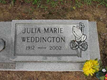 KELSO WEDDINGTON, JULIA MARIE - St. Francis County, Arkansas | JULIA MARIE KELSO WEDDINGTON - Arkansas Gravestone Photos