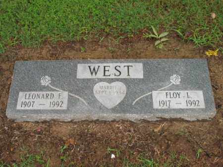 WEST, FLOY L - St. Francis County, Arkansas | FLOY L WEST - Arkansas Gravestone Photos