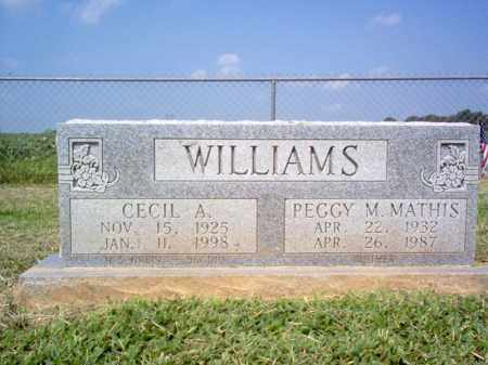 MATHIS WILLIAMS, PEGGY M - St. Francis County, Arkansas | PEGGY M MATHIS WILLIAMS - Arkansas Gravestone Photos