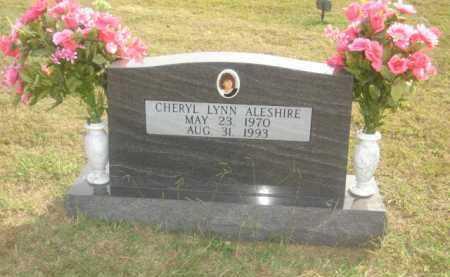 ALESHIRE, CHERYL LYNN - Stone County, Arkansas | CHERYL LYNN ALESHIRE - Arkansas Gravestone Photos
