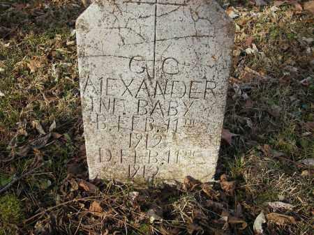 ALEXANDER, GC - Stone County, Arkansas | GC ALEXANDER - Arkansas Gravestone Photos