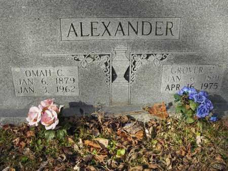 ALEXANDER, OMAH C - Stone County, Arkansas | OMAH C ALEXANDER - Arkansas Gravestone Photos