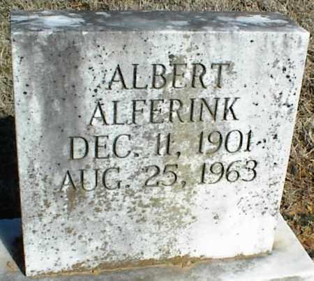 ALFERINK, ALBERT - Stone County, Arkansas | ALBERT ALFERINK - Arkansas Gravestone Photos