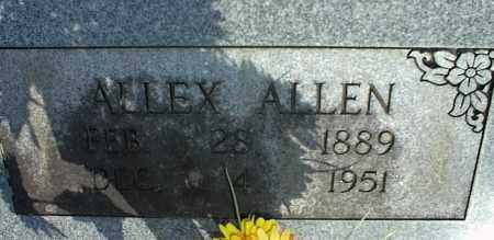ALLEN, ALLEX - Stone County, Arkansas | ALLEX ALLEN - Arkansas Gravestone Photos