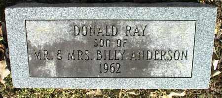 ANDERSON, DONALD RAY - Stone County, Arkansas | DONALD RAY ANDERSON - Arkansas Gravestone Photos