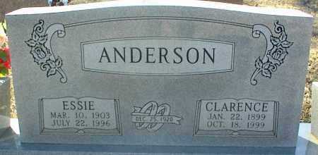 ANDERSON, CLARENCE - Stone County, Arkansas | CLARENCE ANDERSON - Arkansas Gravestone Photos