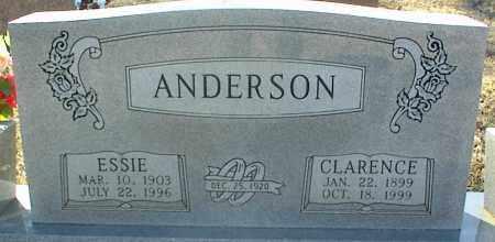 ANDERSON, ESSIE - Stone County, Arkansas | ESSIE ANDERSON - Arkansas Gravestone Photos