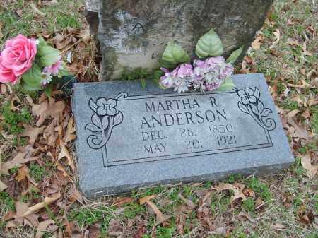 ANDERSON, MARTHA - Stone County, Arkansas | MARTHA ANDERSON - Arkansas Gravestone Photos