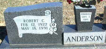 ANDERSON, ROBERT C. - Stone County, Arkansas   ROBERT C. ANDERSON - Arkansas Gravestone Photos