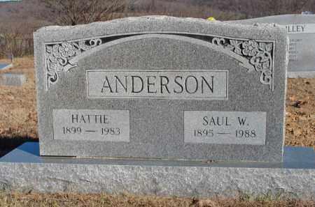 ANDERSON, HATTIE - Stone County, Arkansas | HATTIE ANDERSON - Arkansas Gravestone Photos