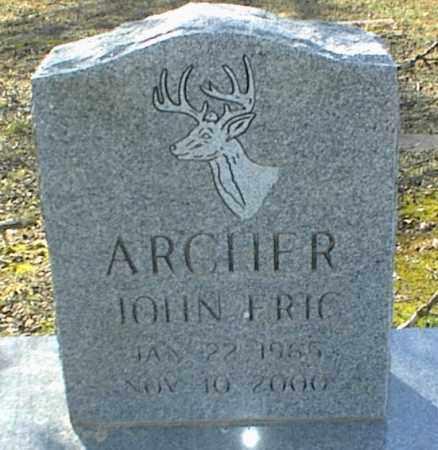ARCHER, JOHN ERIC - Stone County, Arkansas   JOHN ERIC ARCHER - Arkansas Gravestone Photos