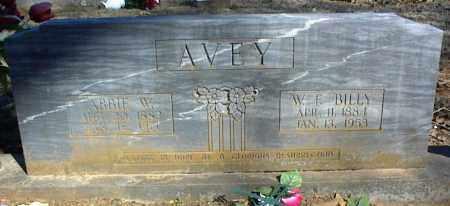 AVEY, ABBIE W. - Stone County, Arkansas   ABBIE W. AVEY - Arkansas Gravestone Photos