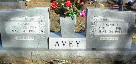 AVEY, CLARA - Stone County, Arkansas   CLARA AVEY - Arkansas Gravestone Photos