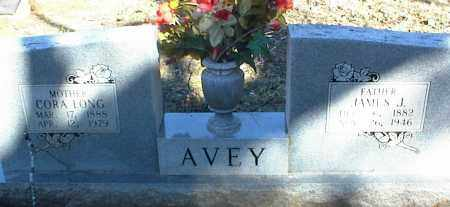 LONG AVEY, CORA - Stone County, Arkansas | CORA LONG AVEY - Arkansas Gravestone Photos