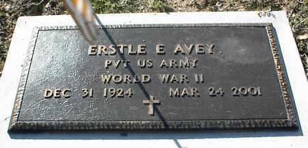 AVEY (VETERAN WWII), ERSTLE E - Stone County, Arkansas   ERSTLE E AVEY (VETERAN WWII) - Arkansas Gravestone Photos