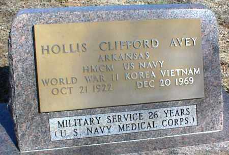 AVEY (VETERAN 3 WARS), HOLLIS CLIFFORD - Stone County, Arkansas | HOLLIS CLIFFORD AVEY (VETERAN 3 WARS) - Arkansas Gravestone Photos
