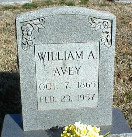 AVEY, WILLIAM A. - Stone County, Arkansas | WILLIAM A. AVEY - Arkansas Gravestone Photos