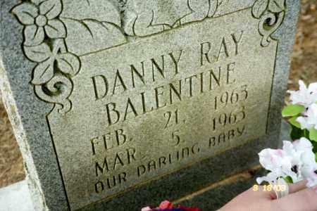 BALENTINE, DANNY RAY - Stone County, Arkansas | DANNY RAY BALENTINE - Arkansas Gravestone Photos