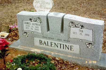 BALENTINE, IVA - Stone County, Arkansas | IVA BALENTINE - Arkansas Gravestone Photos