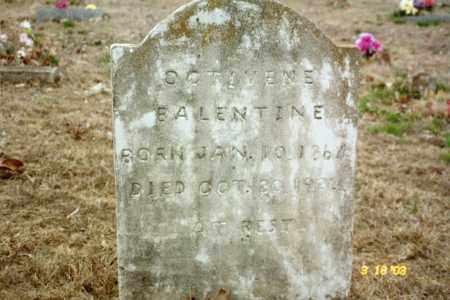 MOORE BALENTINE, NANCY OCTIVENE - Stone County, Arkansas | NANCY OCTIVENE MOORE BALENTINE - Arkansas Gravestone Photos