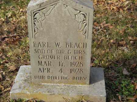 BEACH, EARL - Stone County, Arkansas | EARL BEACH - Arkansas Gravestone Photos