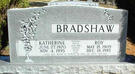 BRADSHAW, ROY ELVIA - Stone County, Arkansas | ROY ELVIA BRADSHAW - Arkansas Gravestone Photos