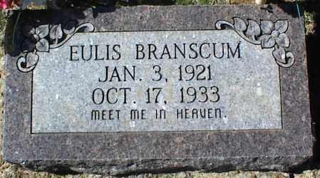 BRANSCUM, EULIS - Stone County, Arkansas   EULIS BRANSCUM - Arkansas Gravestone Photos