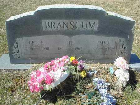 BRANSCUM, LEE - Stone County, Arkansas   LEE BRANSCUM - Arkansas Gravestone Photos