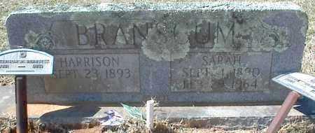 BRANSCUM, HARRISON H. - Stone County, Arkansas | HARRISON H. BRANSCUM - Arkansas Gravestone Photos