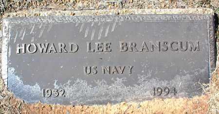 BRANSCUM  (VETERAN), HOWARD LEE - Stone County, Arkansas | HOWARD LEE BRANSCUM  (VETERAN) - Arkansas Gravestone Photos