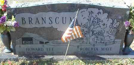 BRANSCUM, HOWARD LEE - Stone County, Arkansas | HOWARD LEE BRANSCUM - Arkansas Gravestone Photos