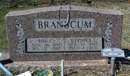 BRANSCUM, IDA C. - Stone County, Arkansas | IDA C. BRANSCUM - Arkansas Gravestone Photos