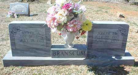 BRANSCUM, MYRTIE A. - Stone County, Arkansas | MYRTIE A. BRANSCUM - Arkansas Gravestone Photos