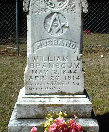 BRANSCUM, WILLIAM J. - Stone County, Arkansas   WILLIAM J. BRANSCUM - Arkansas Gravestone Photos