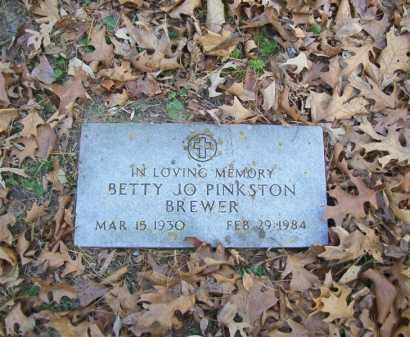 BREWER, BETTY JO - Stone County, Arkansas   BETTY JO BREWER - Arkansas Gravestone Photos