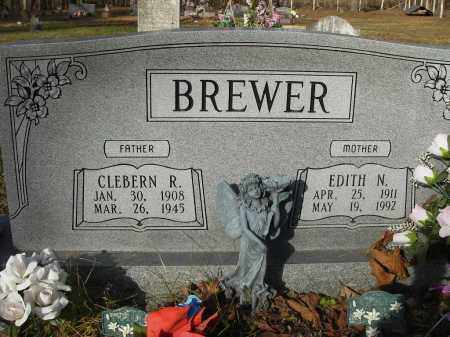 BREWER, EDITH - Stone County, Arkansas   EDITH BREWER - Arkansas Gravestone Photos