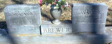 BREWER, LEWIS - Stone County, Arkansas | LEWIS BREWER - Arkansas Gravestone Photos