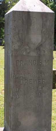 BREWER, FRANCIS M. - Stone County, Arkansas | FRANCIS M. BREWER - Arkansas Gravestone Photos