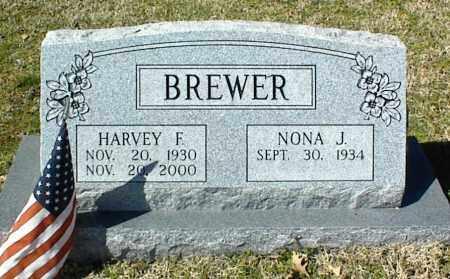 BREWER, HARVEY F. - Stone County, Arkansas | HARVEY F. BREWER - Arkansas Gravestone Photos