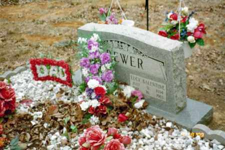 BREWER, LUCY - Stone County, Arkansas | LUCY BREWER - Arkansas Gravestone Photos
