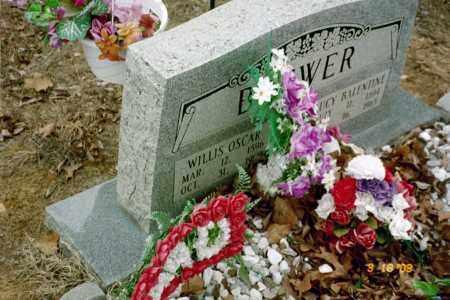BREWER, WILLIS OSCAR - Stone County, Arkansas | WILLIS OSCAR BREWER - Arkansas Gravestone Photos