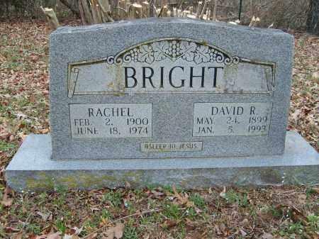 BRIGHT, RACHEL - Stone County, Arkansas | RACHEL BRIGHT - Arkansas Gravestone Photos