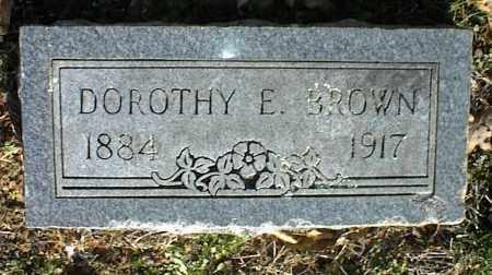 BROWN, DOROTHY E. - Stone County, Arkansas | DOROTHY E. BROWN - Arkansas Gravestone Photos