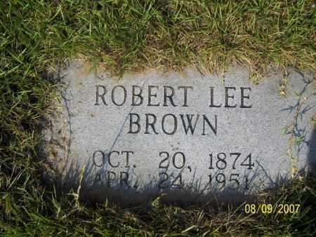 BROWN, ROBERT LEE - Stone County, Arkansas   ROBERT LEE BROWN - Arkansas Gravestone Photos