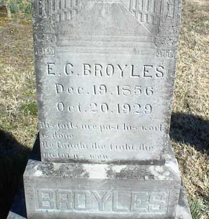 BROYLES, E. G. - Stone County, Arkansas | E. G. BROYLES - Arkansas Gravestone Photos