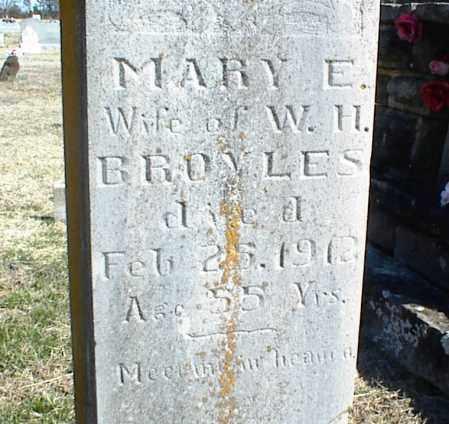 BROYLES, MARY E. - Stone County, Arkansas | MARY E. BROYLES - Arkansas Gravestone Photos