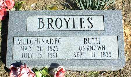 BROYLES, RUTH - Stone County, Arkansas   RUTH BROYLES - Arkansas Gravestone Photos