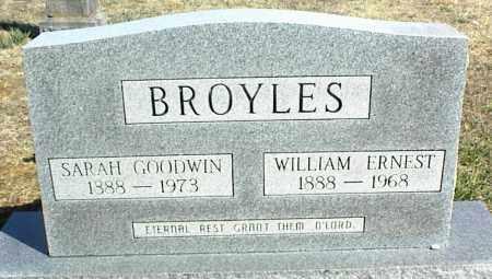 BROYLES, SARAH - Stone County, Arkansas | SARAH BROYLES - Arkansas Gravestone Photos